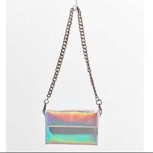 Hologram mini purse